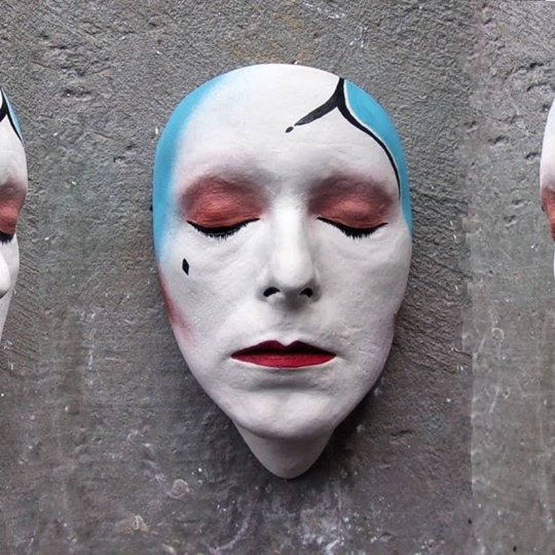 Life Face Cast Of David Bowie - Ashes To Ashes