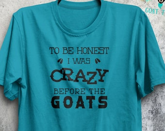 Crazy Goat Lady Shirt - Show Goat Shirt - Goat Gifts - Goat Lover - Show Shirt - Boer Goat - Show Goat - FarmHer - Farm Life