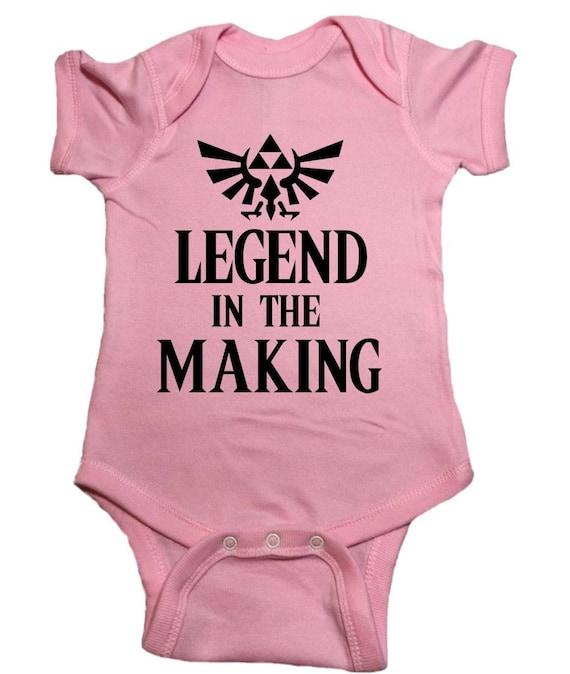 """Legend Of Zelda /""""Legend In The Making/"""" Unisex Toddler T-Shirt"""