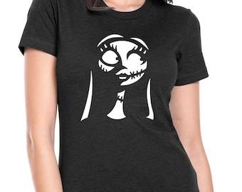 "Nightmare Before Christmas ""Sally Skellington"" Womens Jr. Fit T-Shirt"