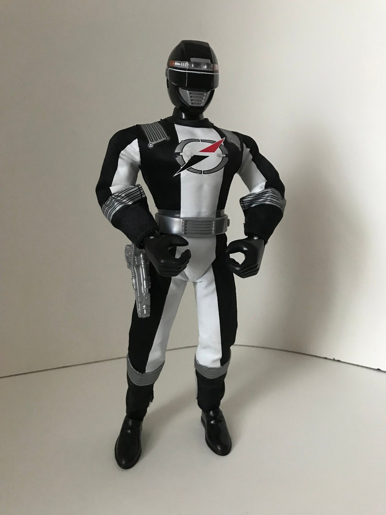 Mighty Morphin Power Ranger 12 inch talking Black Ranger