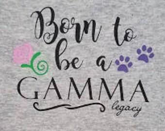 Gamma Baby, Gamma Onesie, Sorority onsie, Sorority baby shirt, Sorority legacy onesie, gamma legacy, sorority legacy,  leagacy onesie