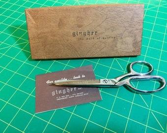 Vintage Gingher G7 knife edge scissors