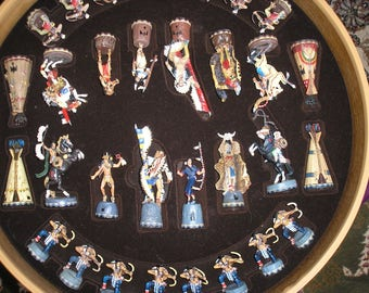 Native american chess set