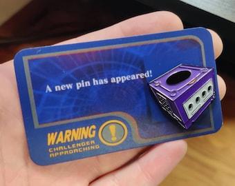 Nintendo GameCube Enamel Pin