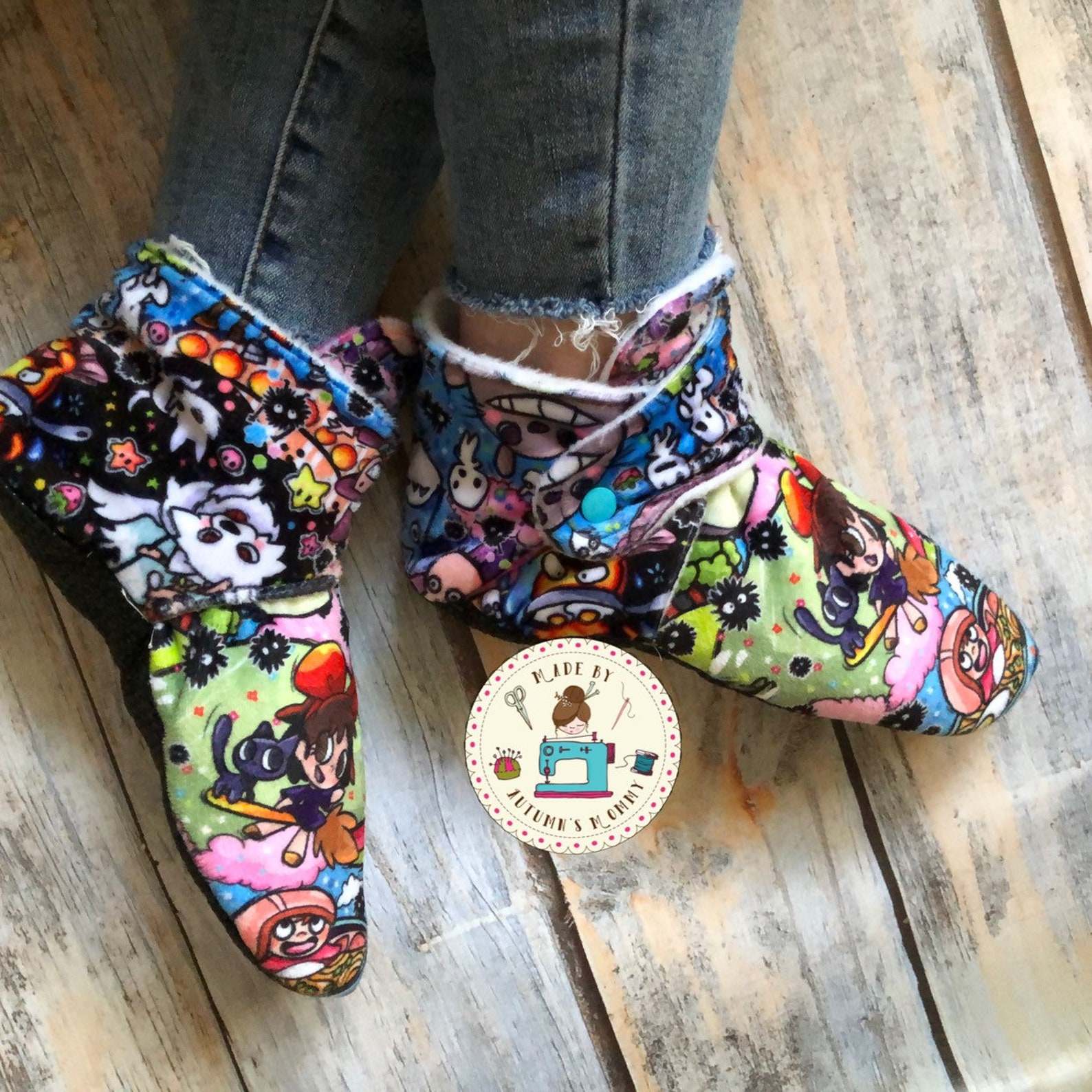 Ghibli Slipper booties Baby / toddler / child