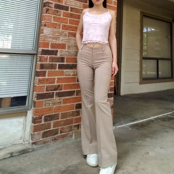 Vintage 90's flares / bell bottoms pants by Rampag