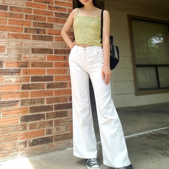 Vintage Big E 60's or 70's Levi's white high waist