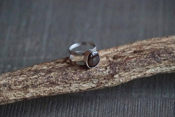 4e413a763391 Ayahuasca silver ring   Terrence McKenna Aya jewelry