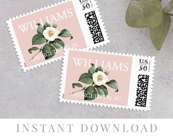 Wedding Postage Stamps Etsy