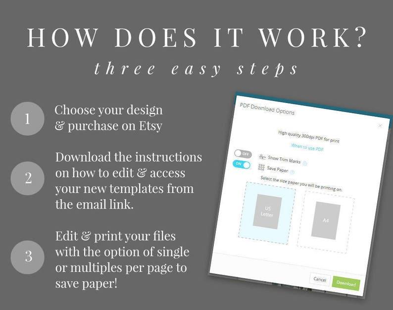 Address Label Printable Leaves DIY Printable Sticker Rustic Templett Envelope Address Label INSTANT DOWNLOAD The Birds Nest Editable