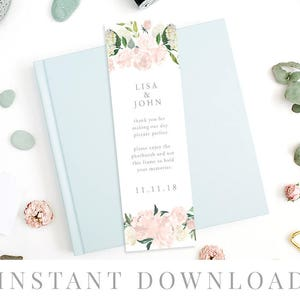 Photobooth Insert Placecard DIY Printable Decorations Photo Booth Place Card Insert INSTANT DOWNLOAD Templett Editable pdf Wedding Favor