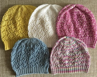 ec1541901d79c Knit baby sun hat