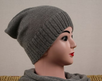 Alpaca knit hat  6710252b3281