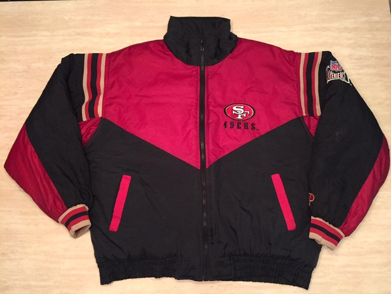 c72f0adb 90s 49ers Jacket. San Francisco 49ers. Pro Player Jacket. Pro | Etsy