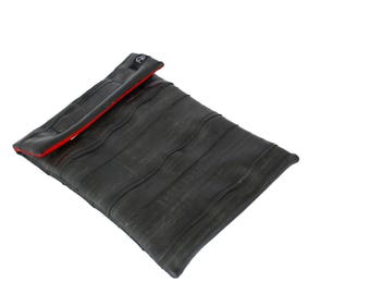 RUGGIDY upcycled tablet sleeve (10 inch) RED