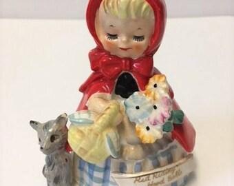 Vintage Little Red Riding Hood Belle Bell