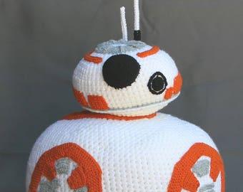 Life-size BB-8 Crochet Pattern - Instant Donwload