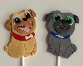 Puppy Dog Pals Cake Etsy