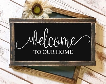 Welcome To Our Home - SVG Cut File