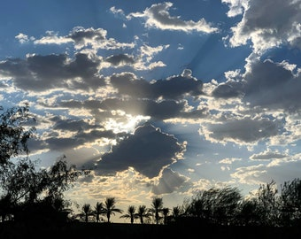 Arizona Clouds - Digital photography download