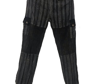 Stone washed Cotton hippie pants