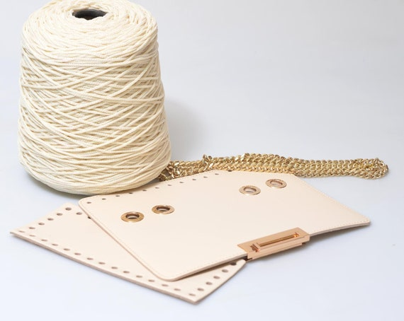 Bricolage De Luxe Sac à Bandoulière Trousse Crochet Sac Kit Etsy