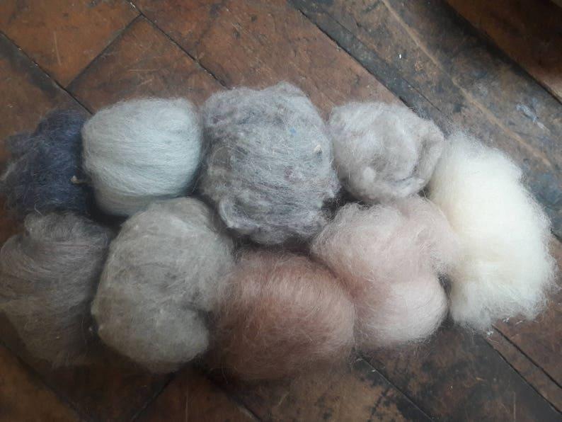 20g Angora Rabbit Fleece For Spinning Felting