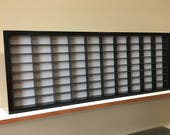 Display case cabinet for 1 64 diecast scale cars (hot wheels, matchbox) - 80NBB-7