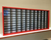 Display case cabinet for 1 64 diecast scale cars (hot wheels, matchbox) - 100NRBW-2