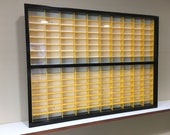 Display case cabinet for 1 64 diecast scale cars (hot wheels, matchbox) 160NBWW-9