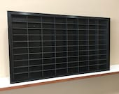 Display case cabinet for 1 64 diecast scale cars (hot wheels, matchbox) - 80NBBb-9
