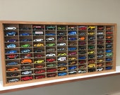 Display case cabinet for 1 64 diecast scale cars (hot wheels, matchbox) - 100NWWnd-2