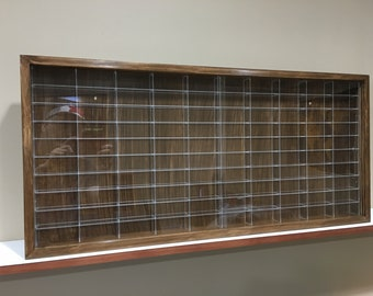 Display Case Cabinet For 1/64 Diecast Scale Cars (hot Wheels, Matchbox)    100NVA 9