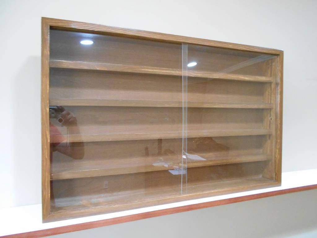 Display Case Cabinet Shelves For Diecast Collectibles Cars