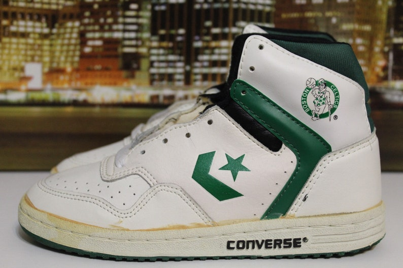 08ad2e057c0 Vintage 80s Converse NBA Basketball Boston Celtics Basketball