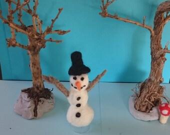 Snowman Oskar