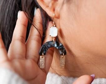 NEW - Clara earrings - Emerald