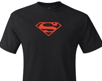 Superman Logo Shirt in Black