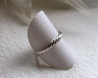 "Silver ring ""Stripes"", Sterling Silver"