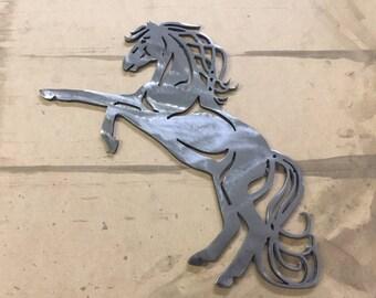 Horse Wall Decor   Metal Art