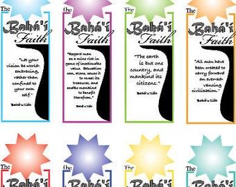 Baha'i Faith Bookmarks