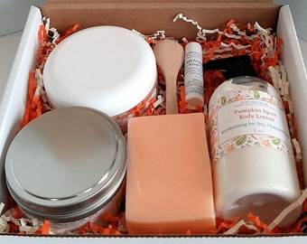 Pumpkin Spice Custom Gift Box, Custom Gift Box, Thinking of You Gift, Thank You Gift, Happy Birthday Gift, Get Well Gift, Christmas Gift Box