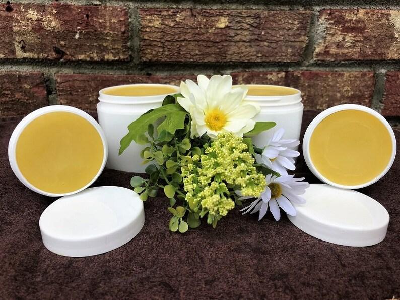 Lemon Balm Healing Salve Lemon Balm Lip Balm Anti Viral Salve image 0