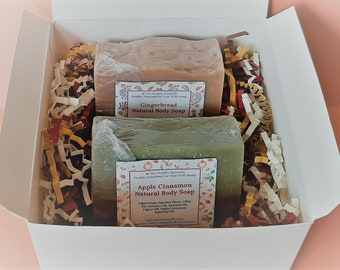 Fall Scents Soap Gift Box, Housewarming Gift, Thank You Gift, Birthday Gift, Thinking of You Gift, Spa Gift, Fall Gift Set, Fall Soap Box