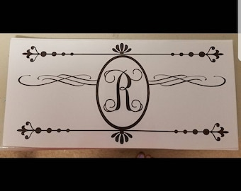 Mailbox Decal Personalized