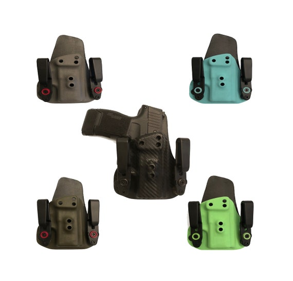 Ruger LC9//LC9S//LC380 Black Kydex IWB Gun Holster by Elite Force Holsters!!