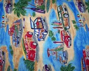 California Dreamin' Collection - Cars on the Beach Splash