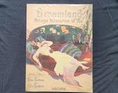 Vintage Sheet Music - Dreamland Brings Memories of You - Beautiful Cover Girl - 1919