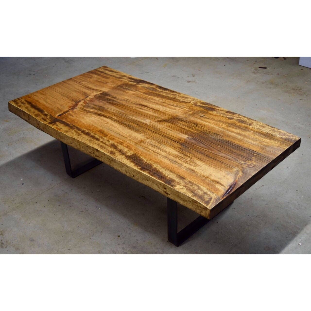 SOLD Live Edge Pine Coffee Table